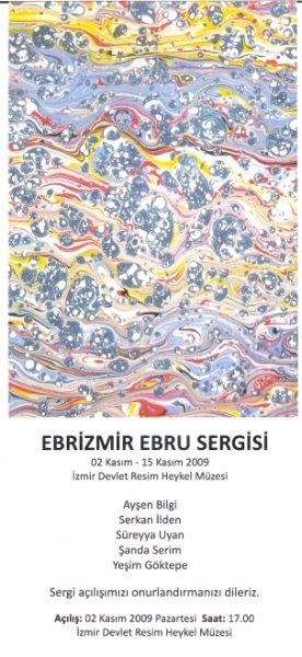 Ebrizmir Ebru Sergisi