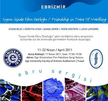 ebrizmir sergisi Ebrizmir   Ebru Sergisi