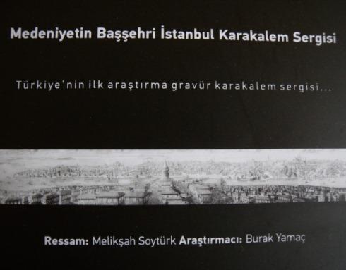 karakalemsergi Medeniyetin Başşehri İstanbul Karakalem Sergisi