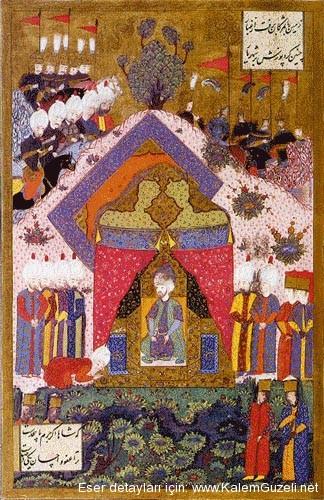 Kanuni Sultan Süleyman'ın İran Elçisini Kabulü